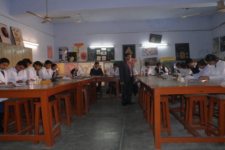 D A V Public School-Biology-Lab