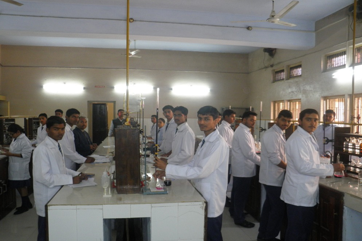 D A V Public School-Chemistry-Lab