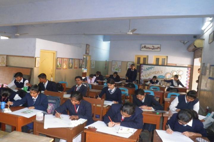 D A V Public School-Fine arts-Lab