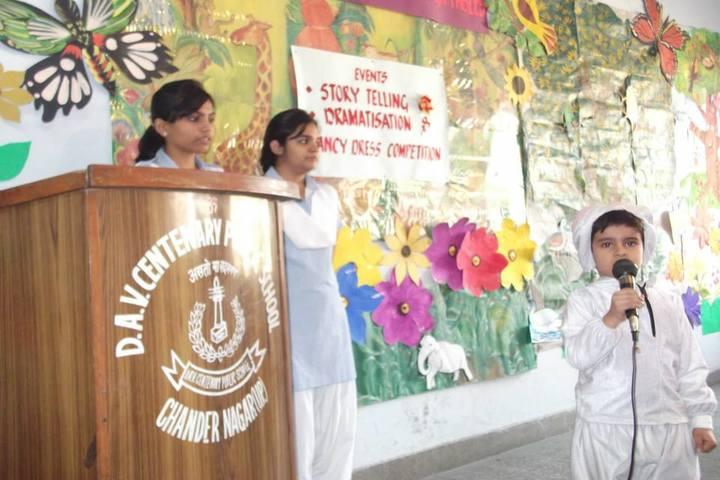 D A V Centenary Public School-Activity