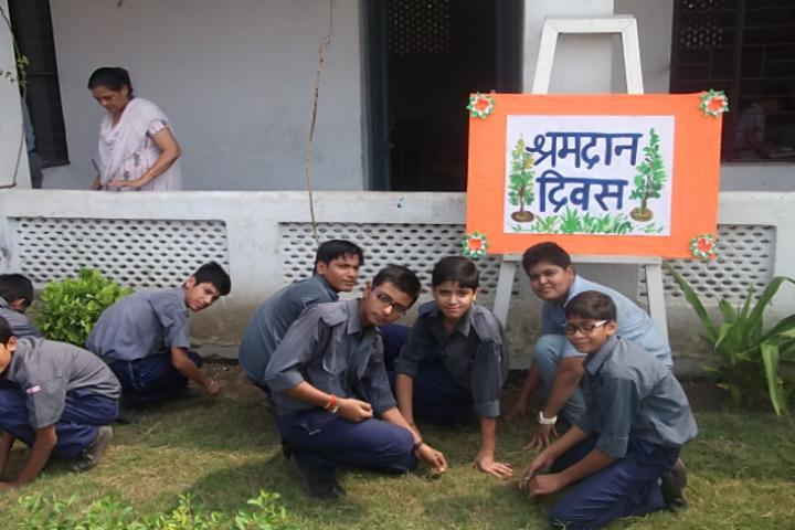 D A V Centenary Public School-Cleaning Activity