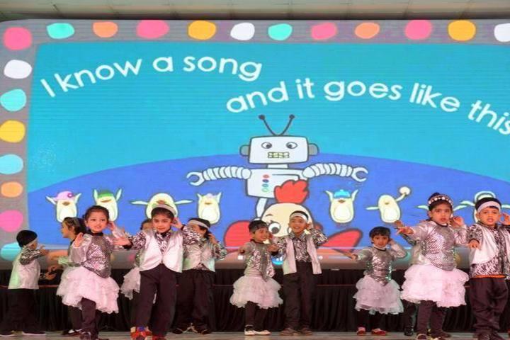 D A V Centenary Public School-Dance