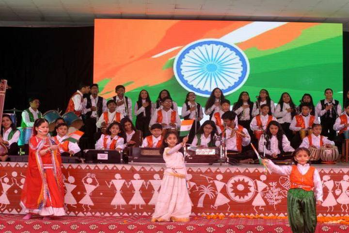 D A V Centenary Public School-Independence Day