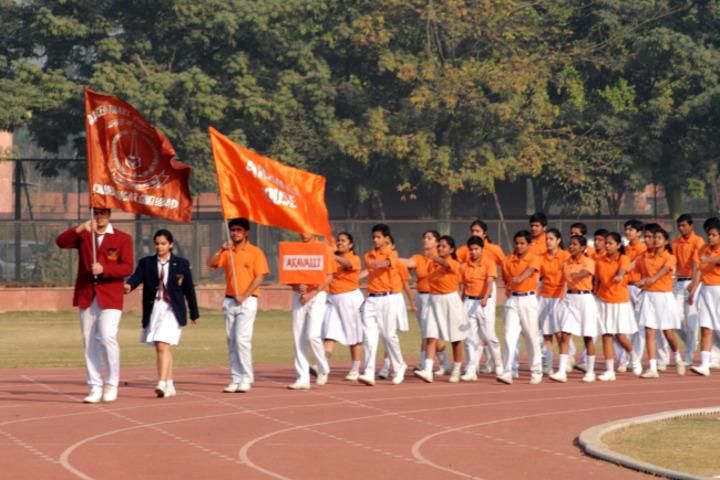 D A V Centenary Public School-Sports Day