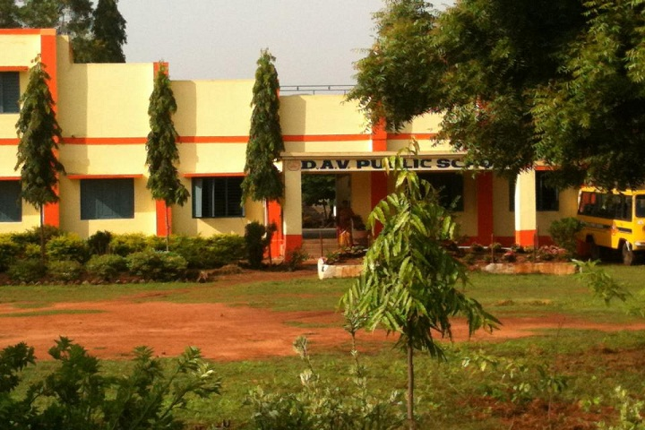 D A V Public School-Campus-View