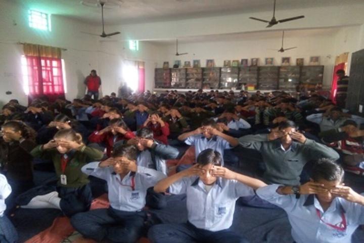 D R M Public School-Yoga