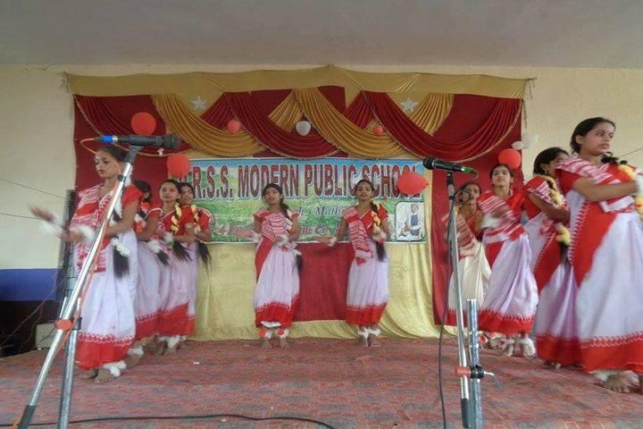 D R S S Modern Public School-Dance