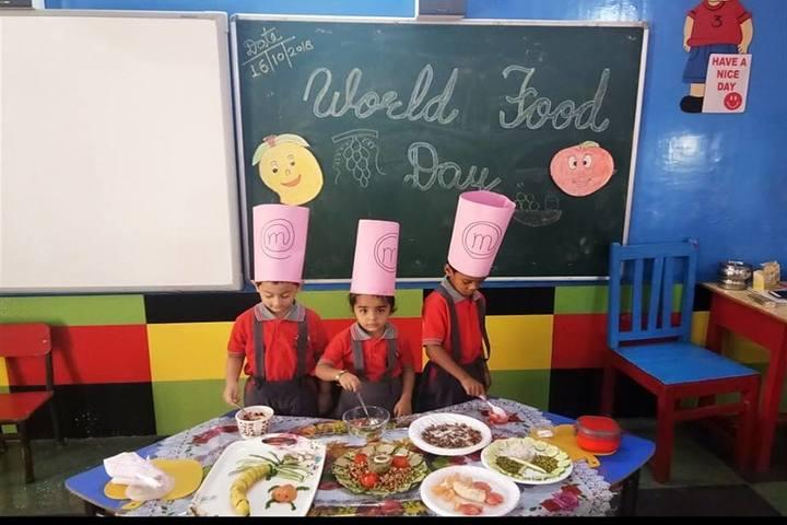 D A V Academy-World Food Day