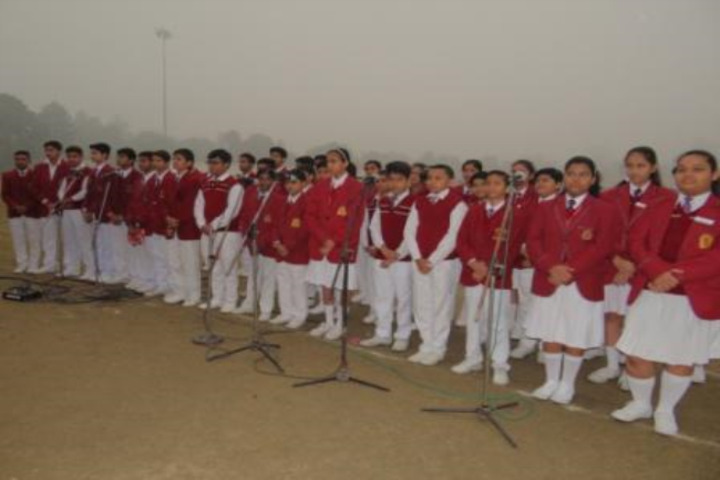 D A V Centenary Public School-Singing