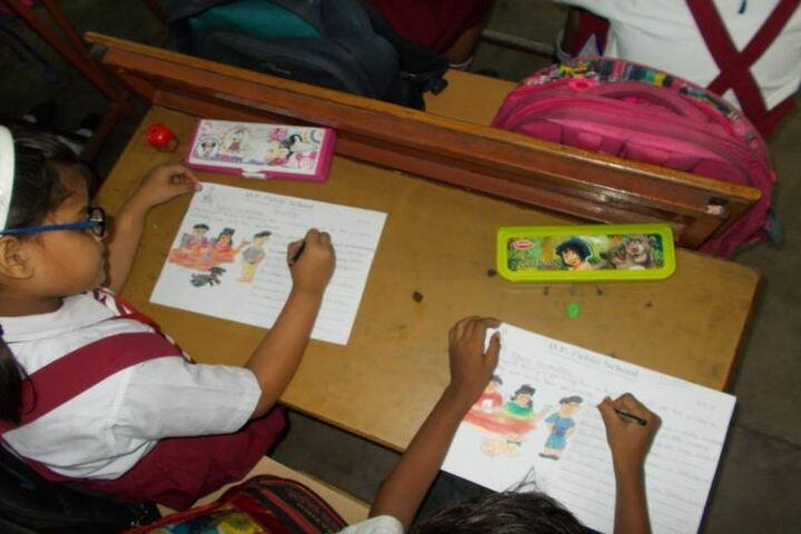 D P Public School-Drawing