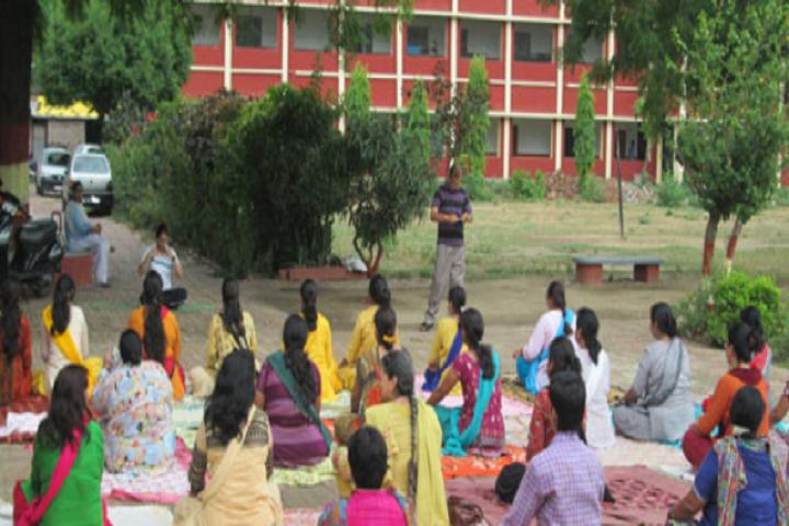 D P Public School-Yoga