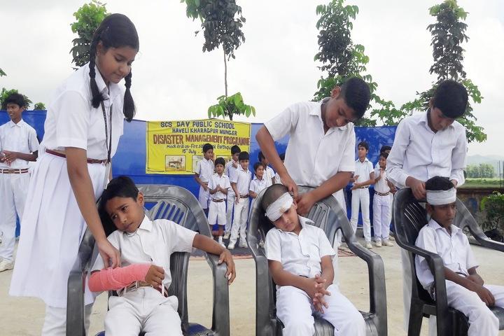SCS DAV Public School-Disaster management awareness programme