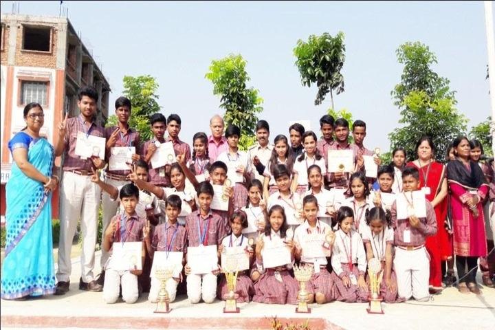 SCS DAV Public School-Felicitation ceremony