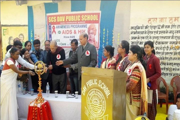SCS DAV Public School-Opening Ceremony