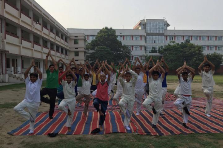D S Public School-Yoga activity