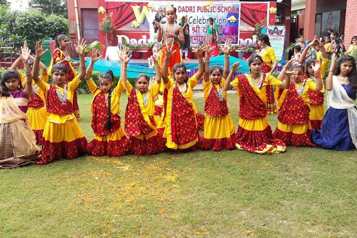 Dadri Public School-Janmashtami Celebration