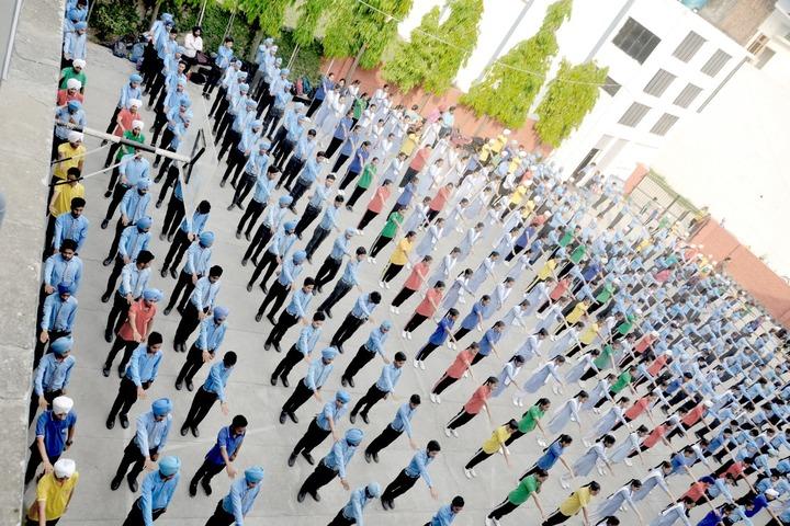 Dashmesh Public School-Assembly