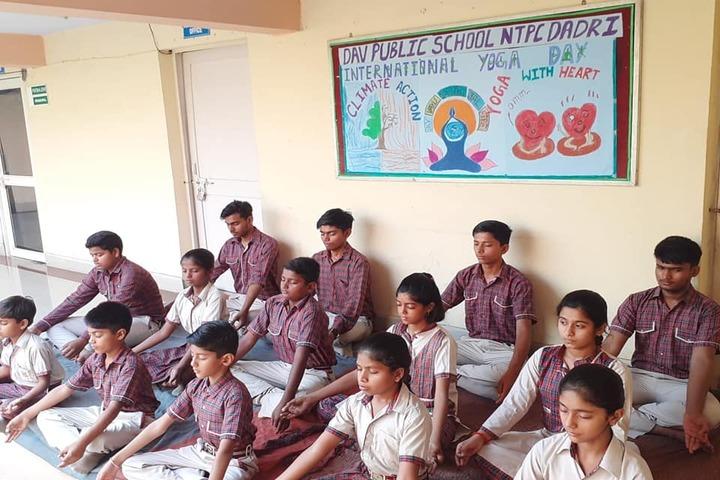 Dav Public School-Meditation
