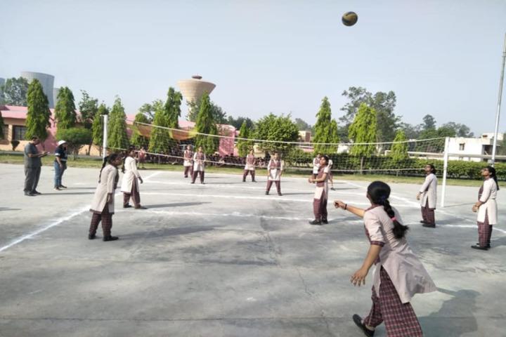 Dav Public School-Volleyball