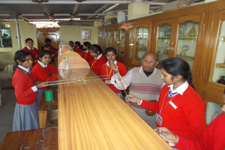 Secondary Delhi Public School-Chemistry Lab