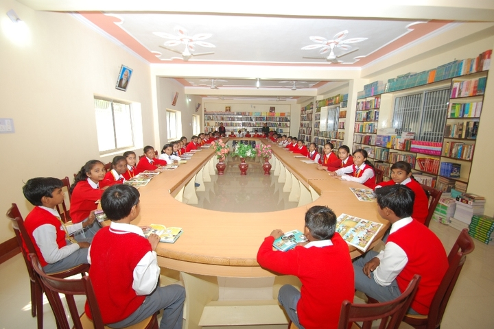 Secondary Delhi Public School-Library