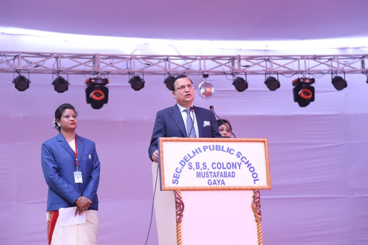 Secondary Delhi Public School-Speech