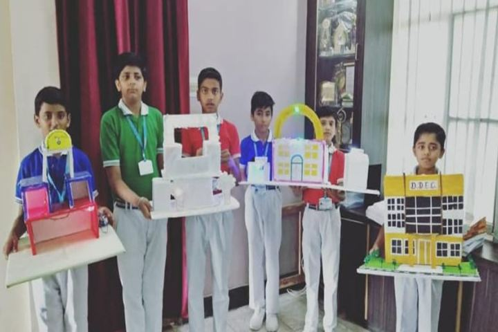 Dayanand Dinanath Education Centre-Exhibition