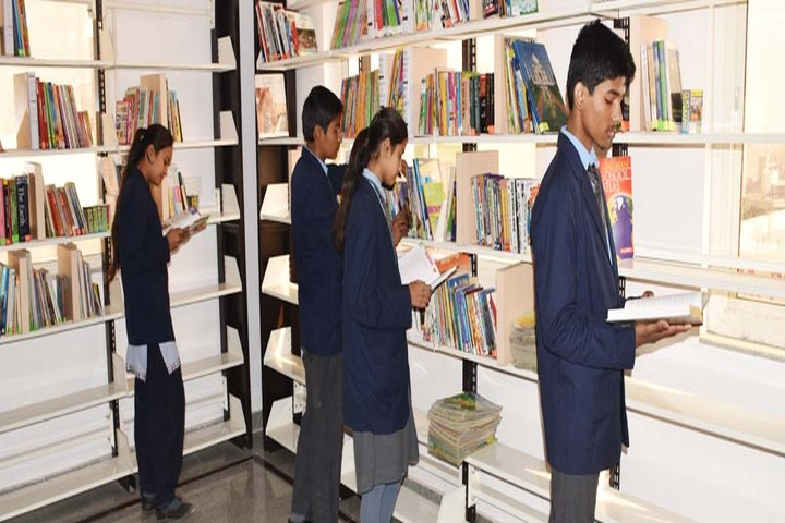 Dayanand Vidya Mandir-Library