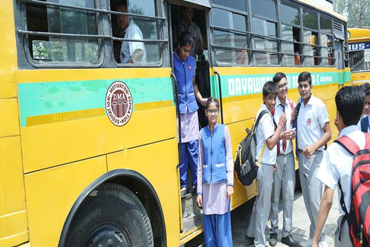 Dayawati Modi Academy-Bus Transport