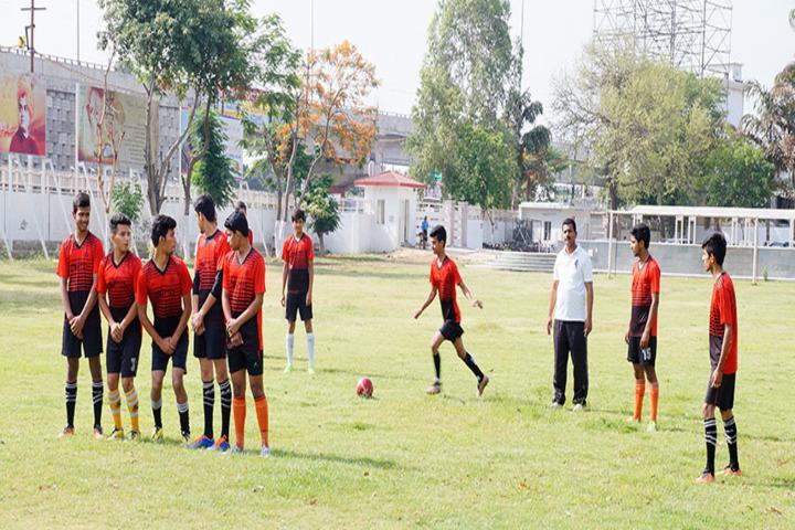 Dayawati Modi Academy-Football Court