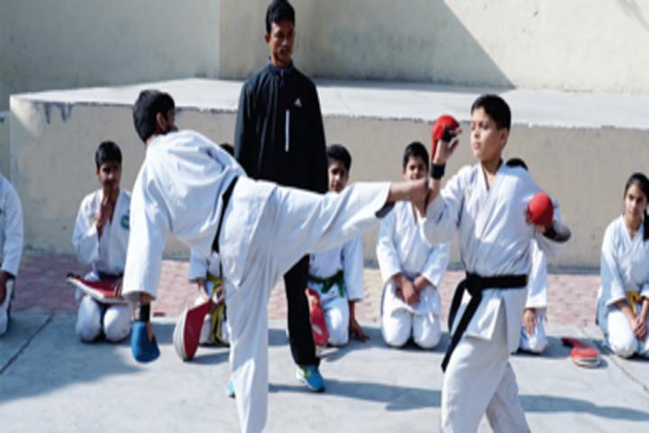 Dayawati Modi Academy-Karate
