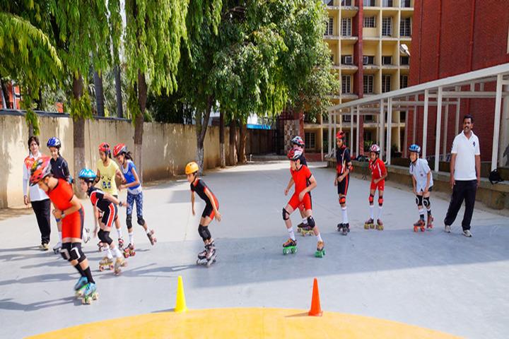 Dayawati Modi Academy-Skating