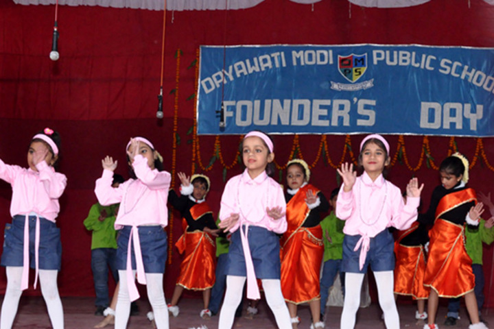 Dayawati Modi Public School-Dance