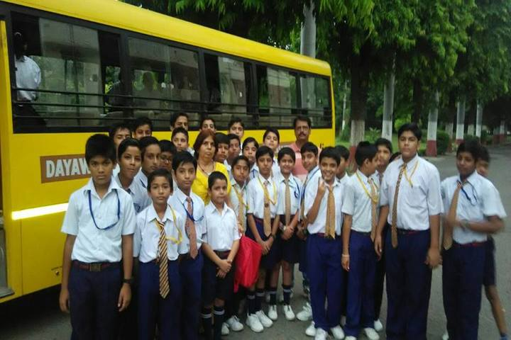 Dayawati Modi Public School-Bus Transport