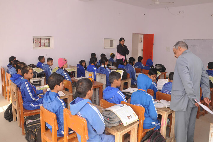 Delhi City School-Classroom