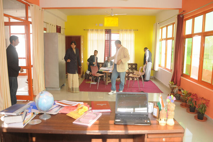 Delhi City School-Staff Room