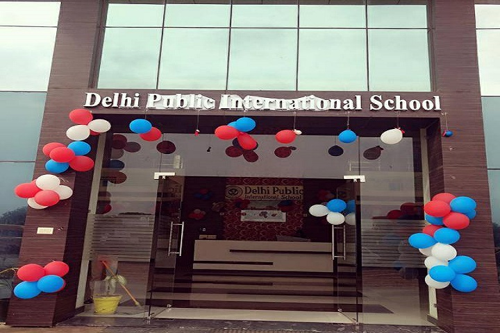 Delhi Public International School-Entrance