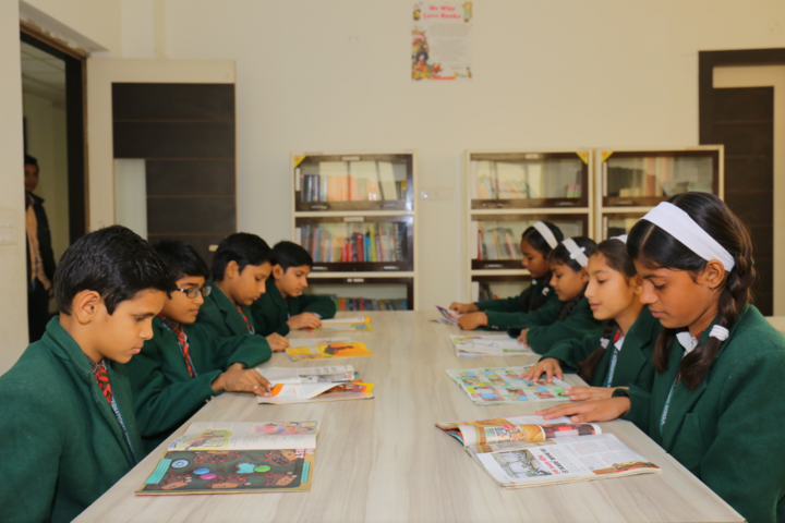 Delhi Public International School-Library