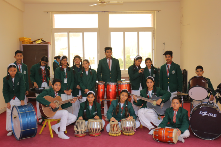 Delhi Public International School-Music class