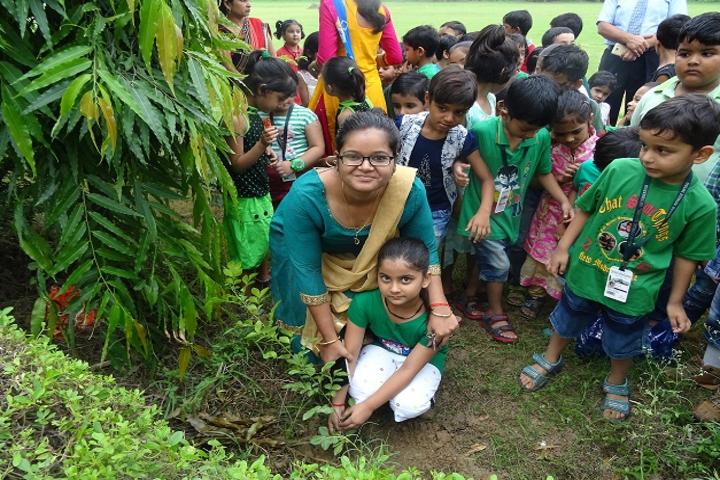delhi public school shikohabad-Awareness of Greenery