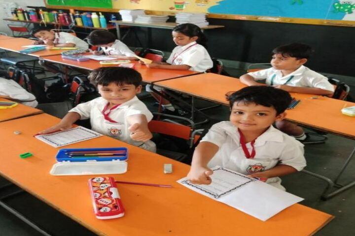 Delhi Public School-Kids Classrooms