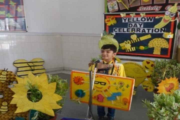 Delhi Public School-Yellow Day