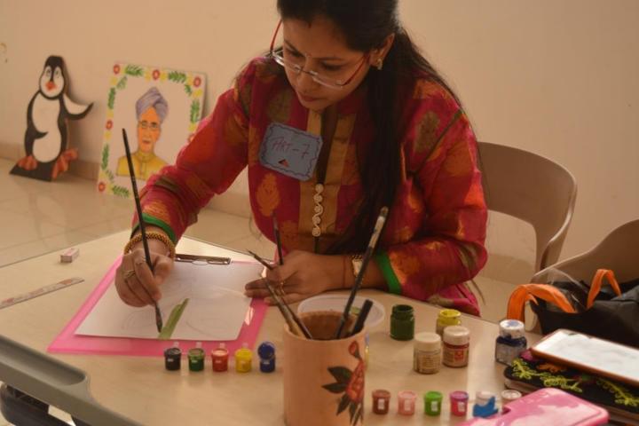 Delhi Public School-Art