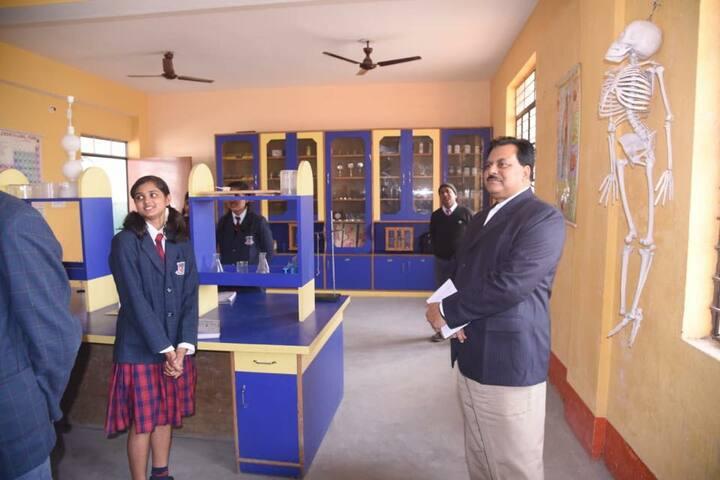 Shanti Asiatic School-Biology Lab