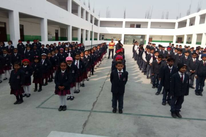 Shanti Asiatic School-Morning Assembly
