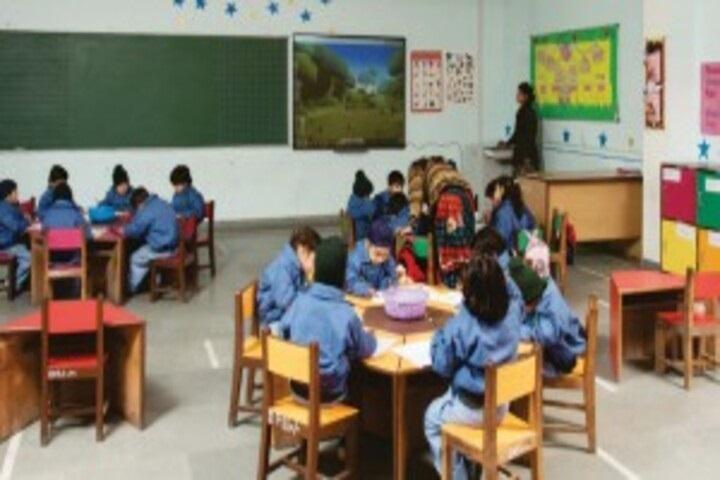 Delhi Public School-Primary classroom