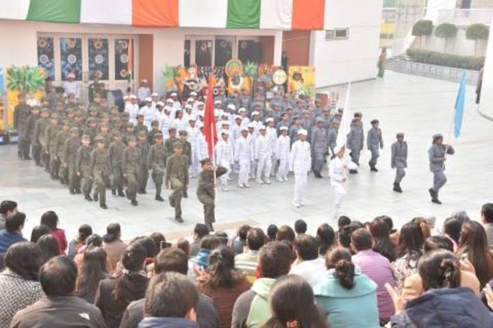 Delhi Public School-Assembly on Independence Day