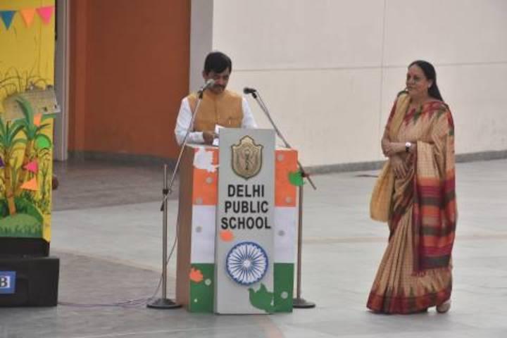 Delhi Public School-Independence day speech