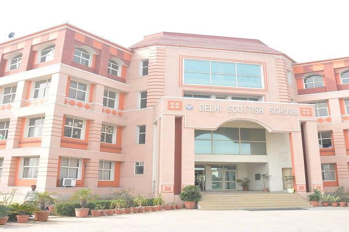 Delhi Scottish School-Campus-View front