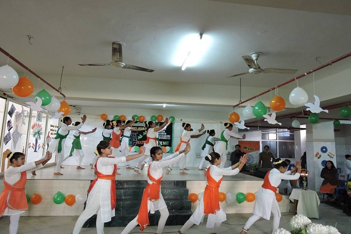 Delhi Scottish School-Events dance